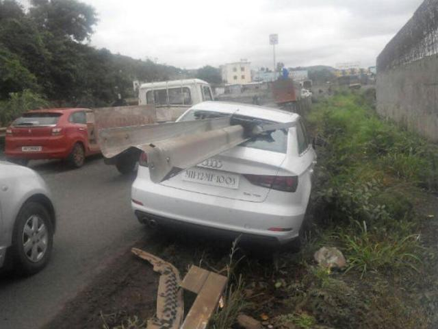 Audi A3 Crash 2