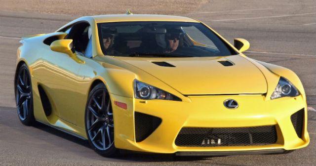Lexus_LFA_Yellow_Las_Vegas_Speedway