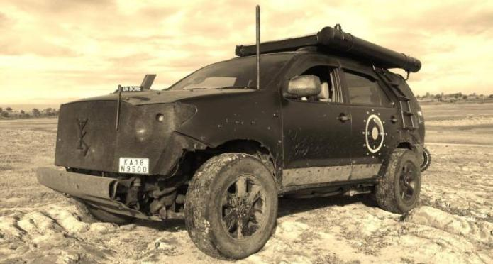 Toyota Fortuner Modified 6