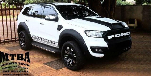 Creta 2017 White >> 5 tastefully modified Ford Endeavours from across the globe