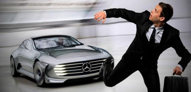 Mercedes Benz Self Driving Car 2