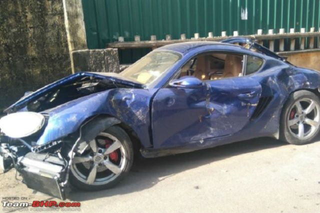 Continued 20 Mind Numbing Super Exotic Car Crashes In India