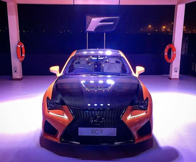 Lexus-RC-F-front