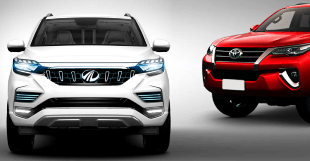 Mahindra's Fortuner Rival