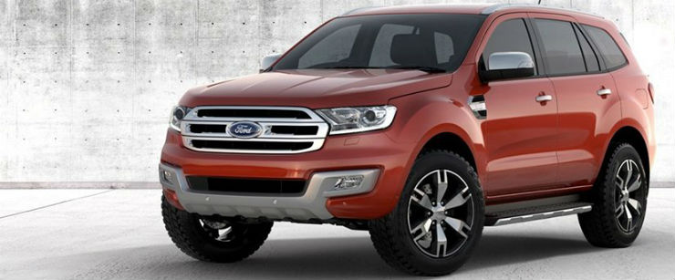 ford endeavour suv prices hiked  india  gst cess
