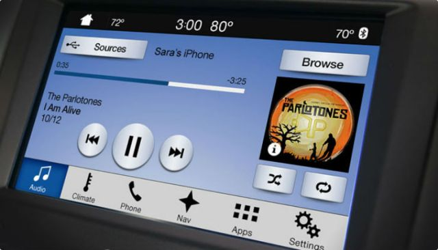 Ford-SYNC-3-music-player
