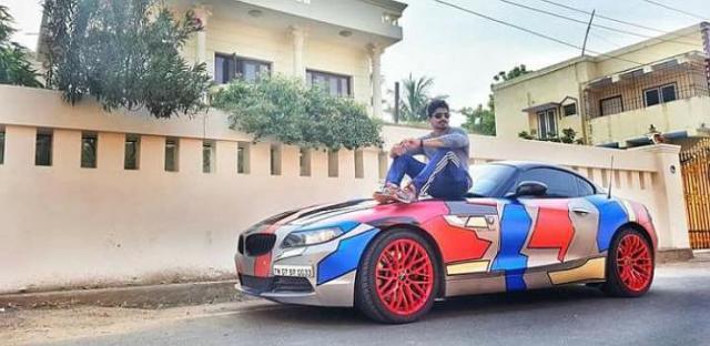 BMW Ashwin Sundar 1