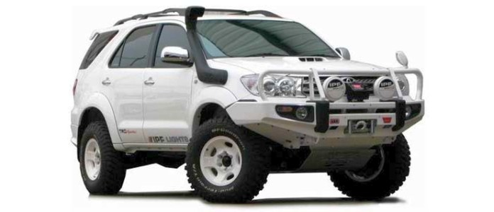 Lifted Toyota Fortuner