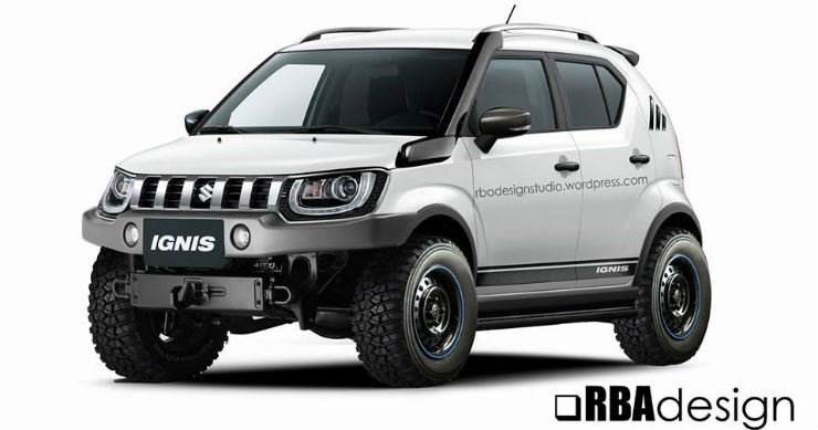The Ignis Has Off Road Capable Genes What With Japanese Domestic Model JDM Featuring An All Wheel Drive Layout To Complement Cars Tall Ground