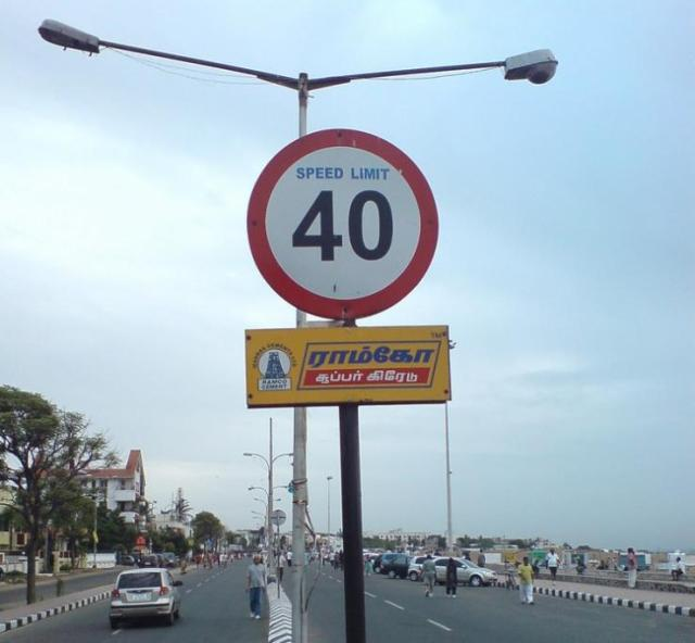 Speed Limit in India