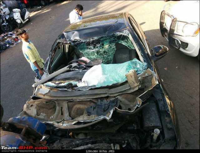 Car Accident Near Lonavala