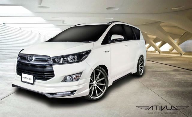 Toyota Innova Crysta 6 Hot Transformation Ideas