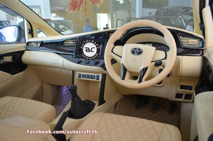 Toyota Innova Crysta 6 HOT transformation ideas