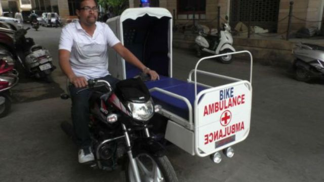 Ambulance bike