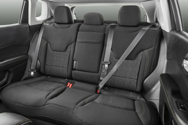 Compass Rear seat