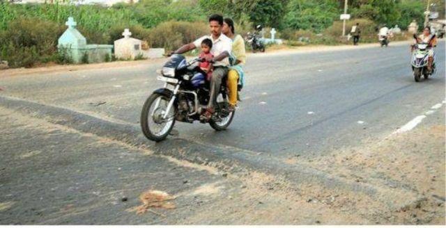 Dangers of bike