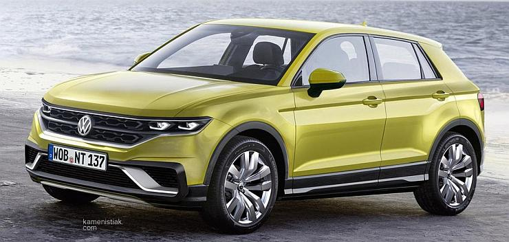 Volkswagen T-Cross and T-Roc Compact SUVs - What's the difference