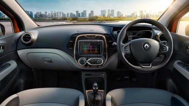 India-spec 2017 Renault Captur 1