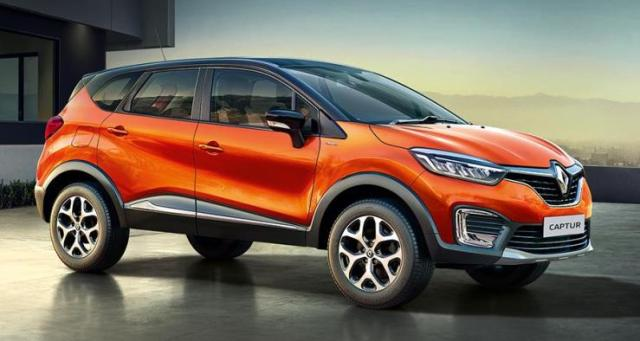 India-spec Renault Captur