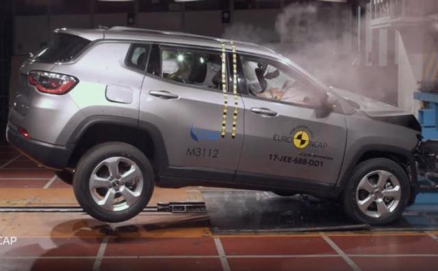 Jeep Compass Euro NCAP Crash Test 1