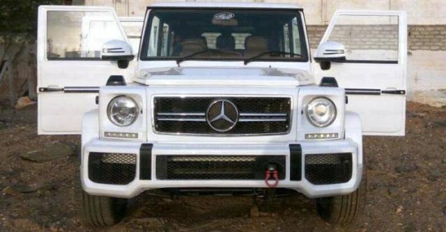 Mahindra Bolero G-Wagen Replica 1