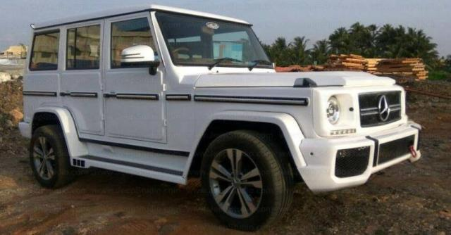 Mahindra Bolero G-Wagen Replica 3