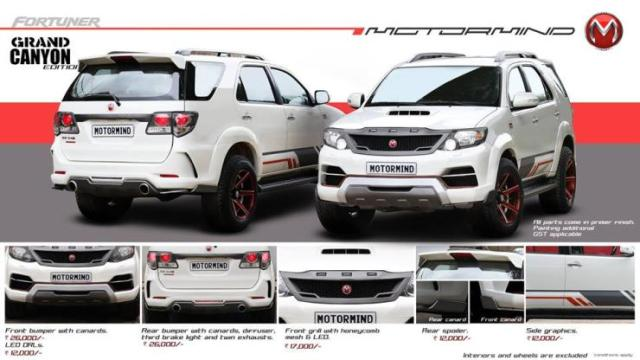 Toyota Fortuner Grand Canyon Edition 5