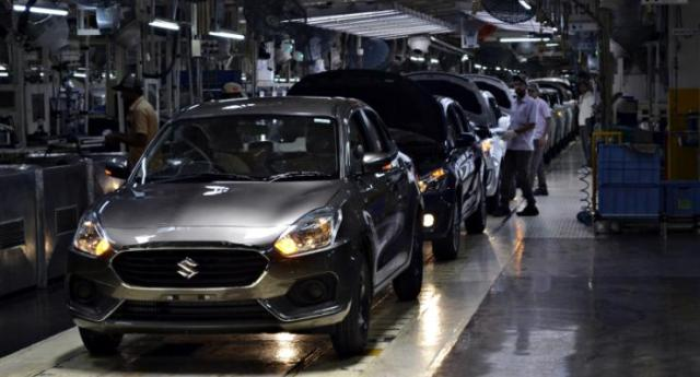 Dzire rolling out of Maruti's Manesar factory