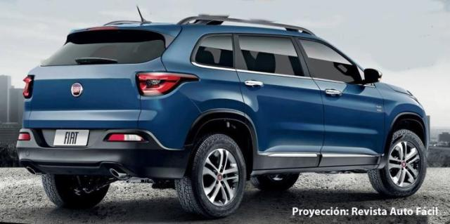 Fiat's Jeep Compass-based SUV Render 2