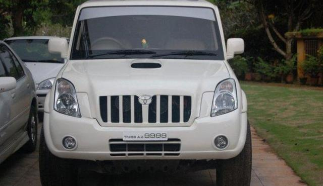 Mahindra Scorpio to Toyota Landcruiser Prado