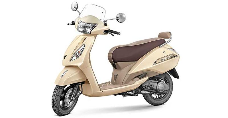 Tvs Jupiter Automatic Scooter S Electric Version Launching