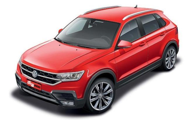 Volkswagen T-Cross SUV Render 1