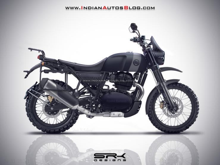 Royal Enfield Himalayan 650 This Is What It Could Look Like