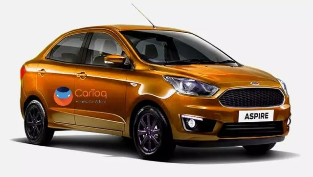upcoming cars - ford aspire facelift