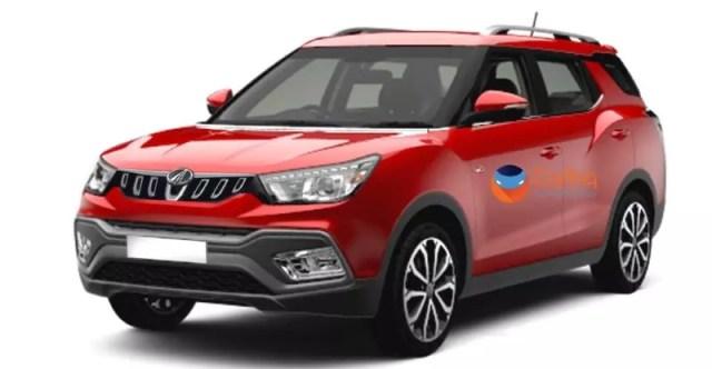 upcoming cars - mahindra s201 suv