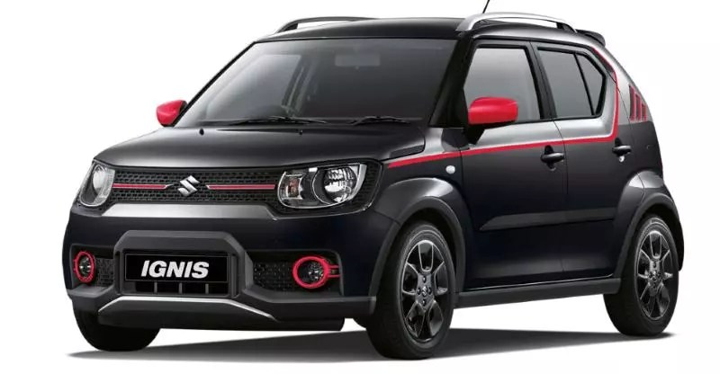 meet the suzuki ignis adventure. Black Bedroom Furniture Sets. Home Design Ideas
