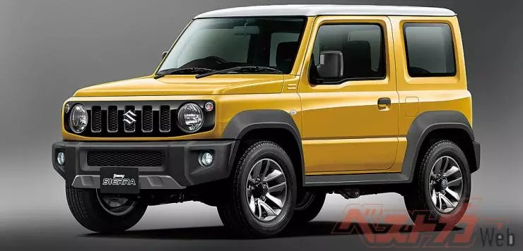 India Bound Suzuki Jimny Maruti Gypsy Replacement Suv