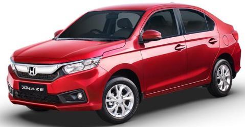 2018 all-new Honda Amaze Front