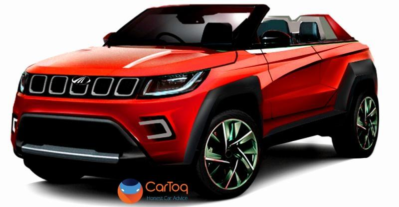 Mahindra Tuv300 Based Stinger Convertible Suv Coming To