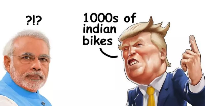 Cheaper imported Harley Davidson and Triumph? Thank Uncle Trump