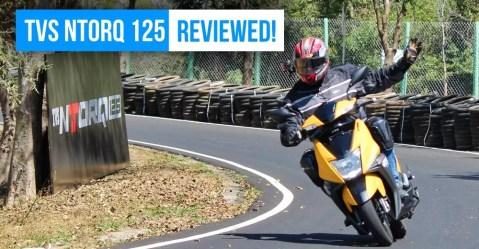 tvs ntorq review photo