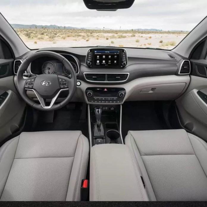 2019 Hyundai Tucson facelift images interior