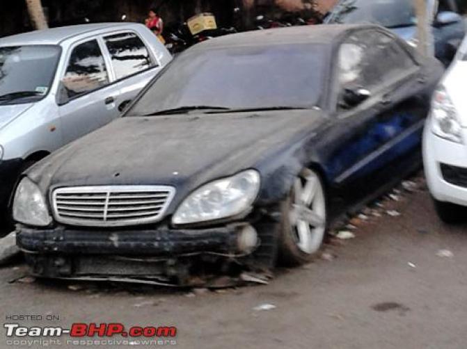 mistreated Rolls Royces/Bentleys/Mercs of India