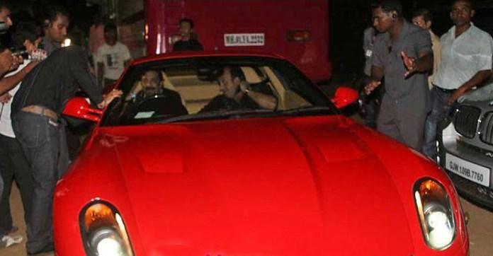ferrari 599 gtb sanjay dutt