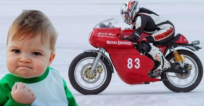 Royal Enfield Superbike Featured