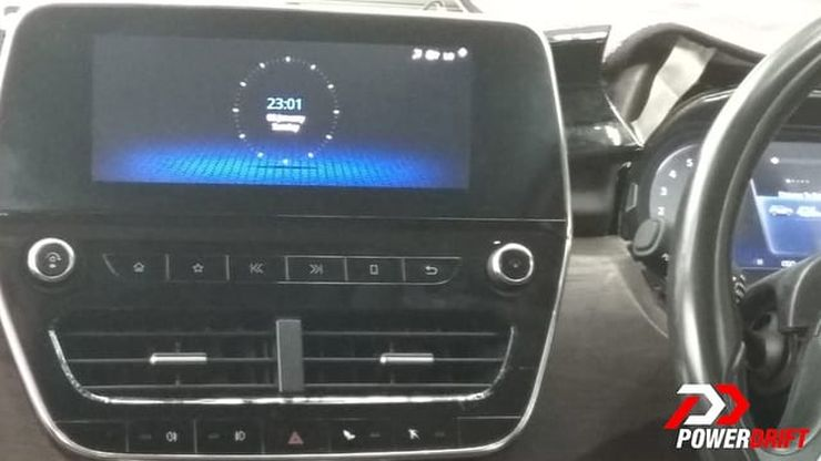 Tata Harrier Infotainment