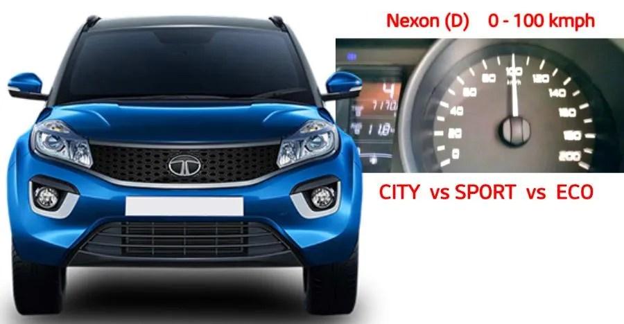 Tata Nexon 0 100 Featured