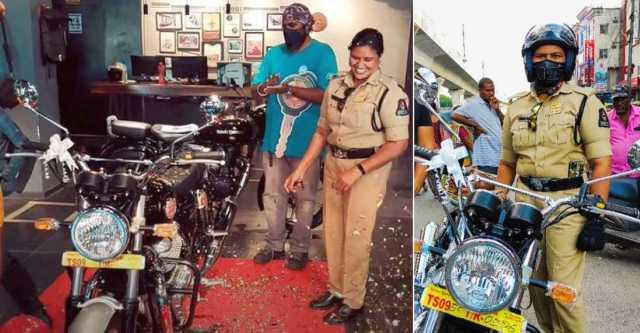 रॉयल एनफील्ड इंटरसेप्टर 650 खरीदने वाली पहली महिला पुलिस अधिकारी बताती हैं कि उन्होंने मोटरसाइकिल क्यों खरीदी