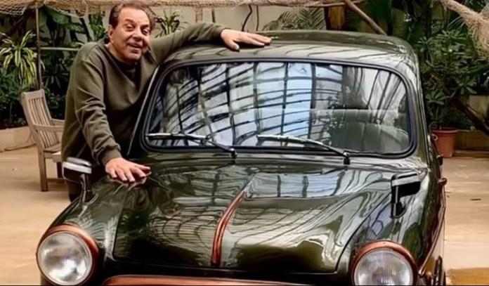 बॉलीवुड अभिनेता धर्मेंद्र ने पोस्ट किया फिएट 1100 का वीडियो, 60 साल पहले खरीदी थी पहली कार