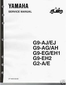 Service Manual, Yamaha G2/G9 88-94